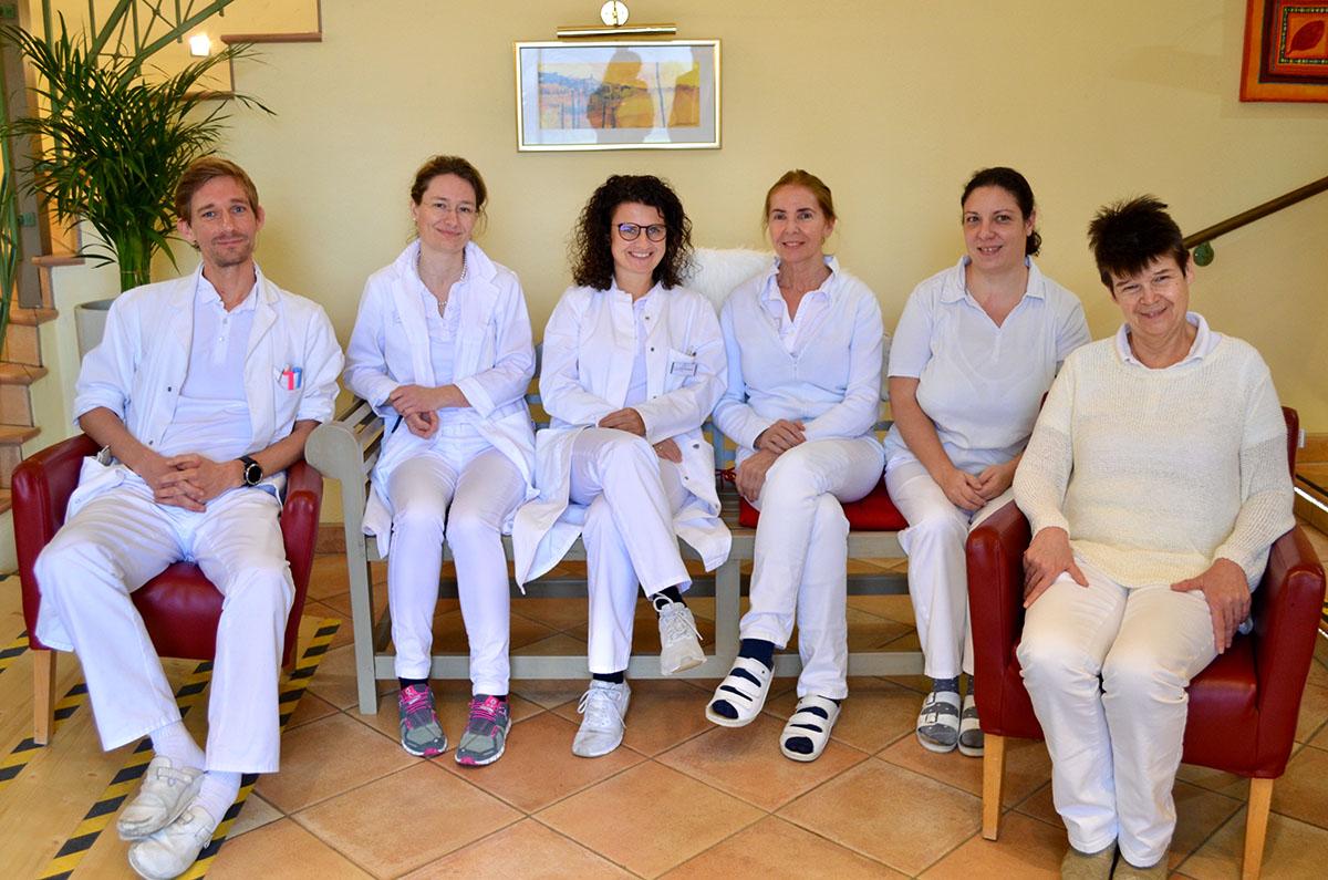 Ärztinnen und Ärzte im Kurzentrum Bad Wimsbach