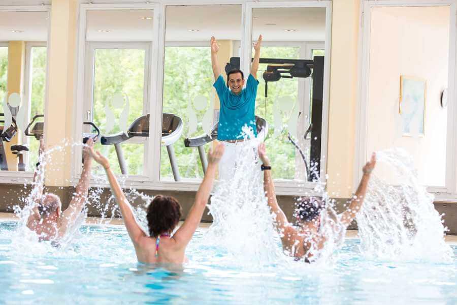Wasser Bewegung Therapie